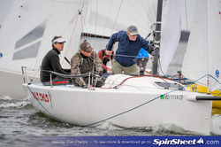 J/70 Wild Child sailing Annapolis