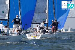 J/88 sailing Charleston