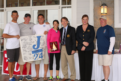 J/24 winners at Easter Regatta