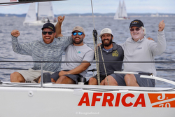 J/70 World Champs- Lucas Calabrese tactician for Jud Smith