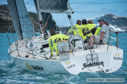 J/105 Soltice sailing St Maarten regatta