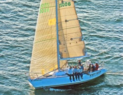 J/34 IOR sailing Great Lakes
