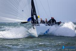 J/111 Sweeny sailing North Sea Regatta