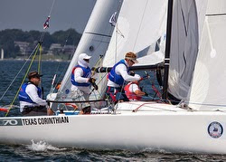 J/70 from Texas sailing New York regatta