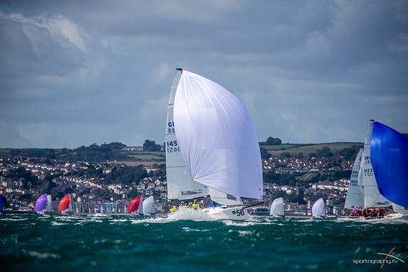 J/70 Worlds in Torbay, England