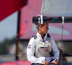 Canadian women J/70 sailor- Isabella Bertold in Women's Worlds