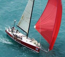 J/145 sailing Mackinac Race