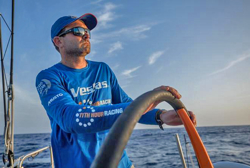 Charlie Enright- skipper of Team Vestas 11th Hour in Volvo race