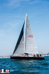 J/124 sailing Newport Ensenada