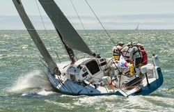 J/125 sailing Pacific Cup race