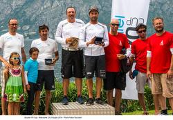 Alcatel J/70 Cup winners- Malcesine, Italy