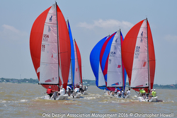 J/70s sailing Galveston Bay