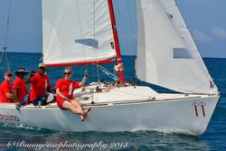J/22 Geronimo sailing Jammin Jamaica regatta
