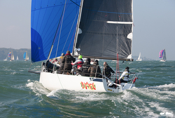 J/88 sailing on Hamble and Solent