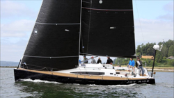 J/122E JOYRIDE sailing off Seattle, WA