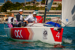 Russian J/70 woman skipper- Valerya Kovalenko at Monaco