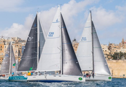J/122E Anita sailing Middle Sea Race