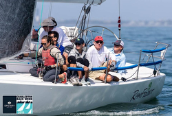 J/105 sailing Charleston Race Week