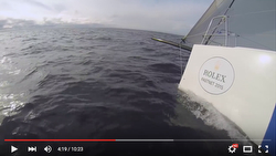 J/111 Blur Fastnet sailing video