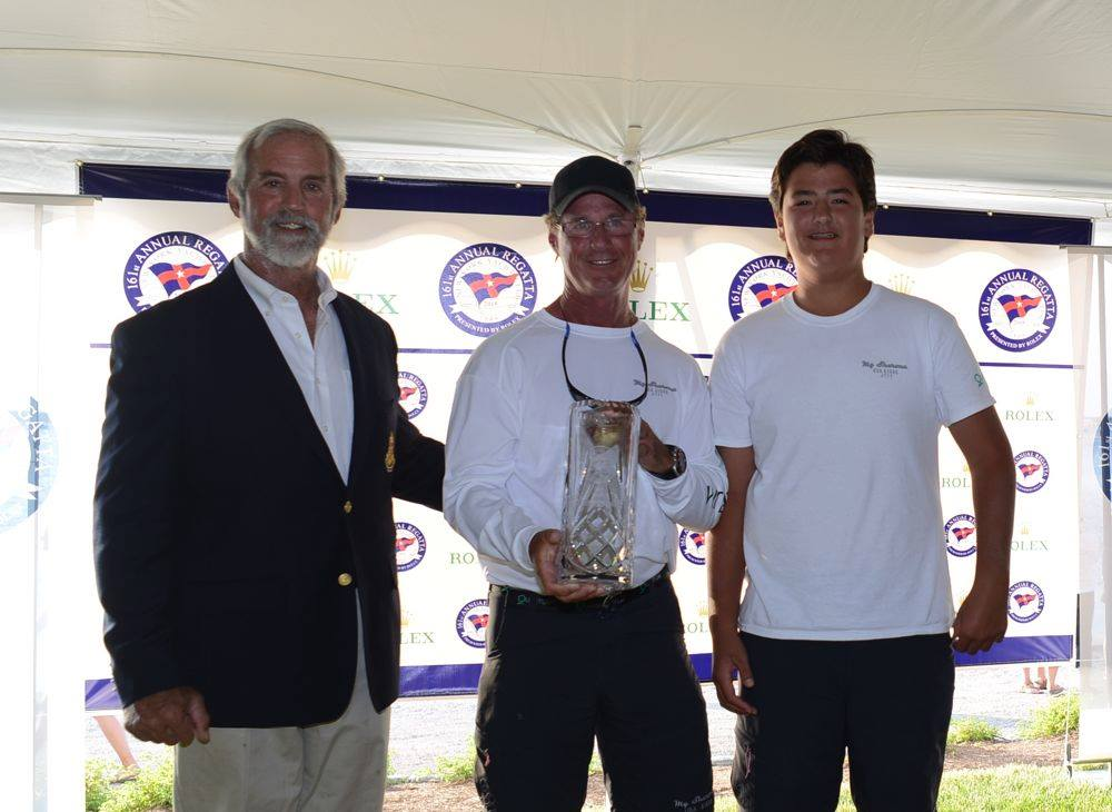 George & Kye Gamble winning J/111s at New York YC Annual Regatta in Newport, RI