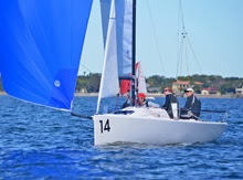 J/70 SCAMP sailing Tampa Bay Quantum regatta