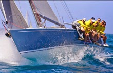 J/125 Stark Raving Mad sailing Heineken regatta