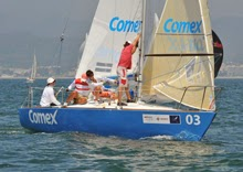 J/24 Comex sailing in Mexico