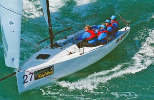 J/70 Junkanoo- sailing Key West- Suzy Leech