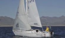 J/24 Mermaid Rescue- sailing Lake Pleasant, Arizona