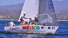 J/24 sailing in Mexico