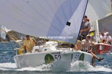 J/105s sailing St Thomas regatta