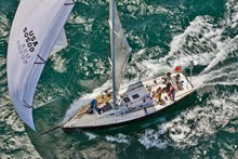 J/130 cruising racing sailboat