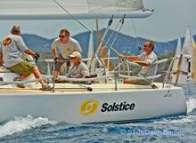 J/105 Solstice sailing St Thomas Regatta