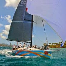 J/122 El Ocaso sailing St Thomas Regatta
