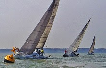 J/111s sailing Warsash Spring Series