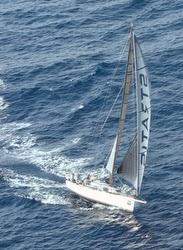 J/111 sailing with Code Zero in NZ