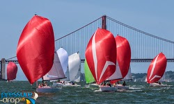 J/70s on San Francisco Bay