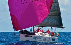 J/109 women crew in St Barts