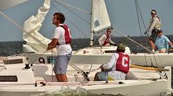 J/22s sailing Charleston