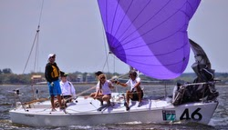 J/24 sailing Charleston