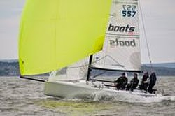 J/70 sailing Warsash spring series on Solent