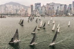 J/145 sailing China Sea Race