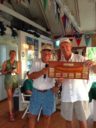J/95 winners in Hopetown Sailing Club