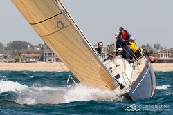 J/124 sailing Ensenada Race