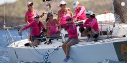 J/109 women's team at St Barths