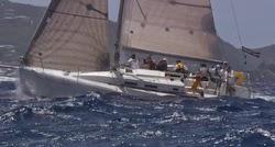 J/109 sailing Les Voiles St Barths offshore
