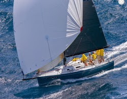 J/125 Stark Raving Mad- sailing Les Voiles St Barths
