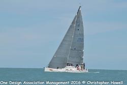 J/122 Teamwork sailing off Key West