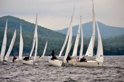 J/22 sailing Lake George, New York