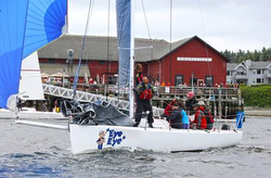 J/90 EYE EYE sailing Whidbey Island race week